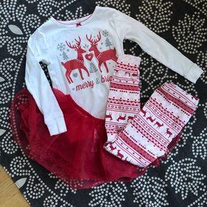 Carters Christmas Pajama Set